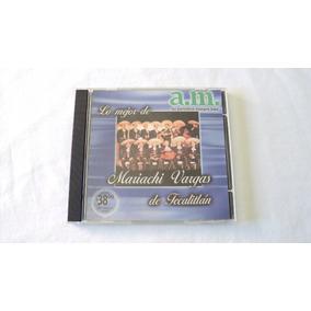 Mariachi Vargas De Tecalitlan Lo Mejor Cd Disco Compacto Am