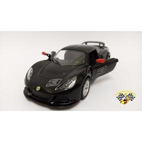 Miniatura Lotus Exige 2012 S Preta Kinsmart 1:32