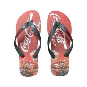 28dfb10ec Chinelo Havaianas Coca Cola Chinelos - Sandálias e Chinelos no ...