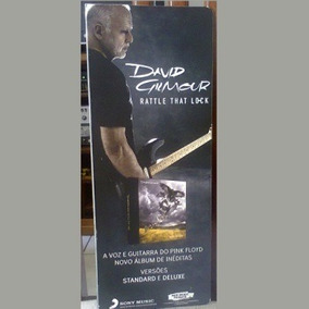 Mini Poster / David Gilmour = Rattle That Lock ( Divulgação