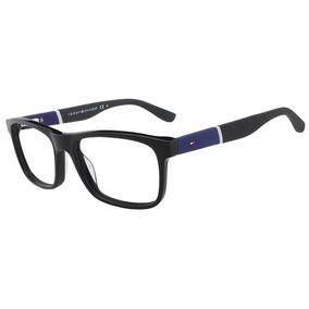 3eefd8620f884 Oculos De Grau Tommy Hilfiger - Óculos Vermelho no Mercado Livre Brasil