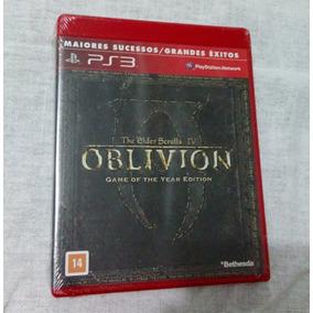 The Elder Scrolls Iv 4 Oblivion Ps3 Novo Dlcs No Disco Leia