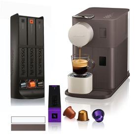 Cafetera Nespresso Lattissima One + Dispensador + Cupón