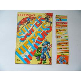 Figurinhas Super Herois P/ Colar 1978