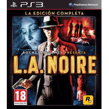 L.a. Noire + Todos Los Dlc ~ Ps3 Digital Español