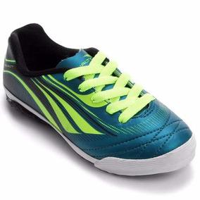 42c9f596ad Tenis Penalty Futsal Atf K Rocket Infantil - 1160647026 Azul