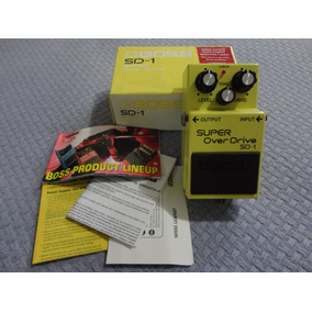 Pedal Overdrive Boss Sd-1