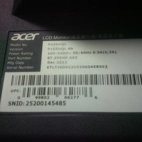 Monitor Acer P166hql Para Repuesto