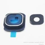 Marco + Lente Camara Samsung S6 Color Azul
