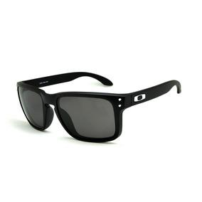 0725e3a35bf83 Óculos Sol Oakley Holbrook Preto Masculino 100% Polarizado