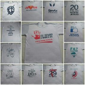 Promoção Camisas Lindas Com Estampas Evangélicas Vários Mode