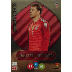 Cards Copa 2018 Adrenalyn Limited Edition Neuer Alemanha