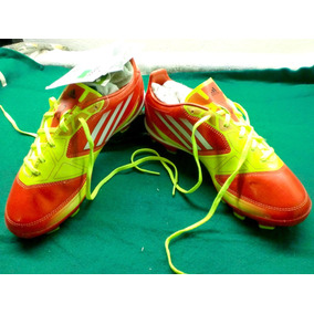 free shipping 480bc 270ff Zapato Futbol adidas F10 Trx Fg Orange