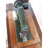 Maquina De Costura Antiga, Eletrica Vigorelli Funcionando