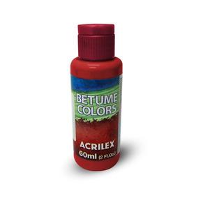 Acrilex Betume Colors Tinta Envelhecedora 60ml - Acrilex 519