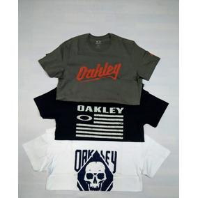 Kit Com 3 Camisetas Oakley Original e1c21d50575