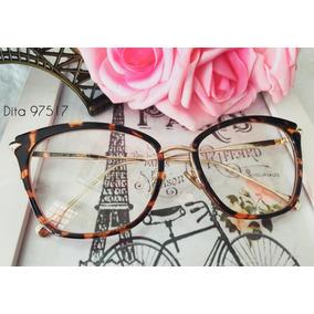 Armacao De Oculos De Grau Feminina Case Luxo - Óculos no Mercado ... 3261cbf163