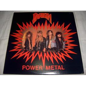 Lp Pantera - Power Metal 1st Press 88 Usa Glam Heavy Metal