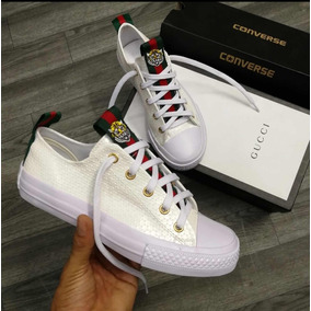 Zapatos Gucci Unisex White