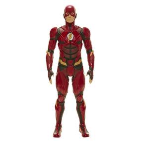 Boneco Dc Gigante Mimo Liga Justiça Heroi Flash Origina 45cm