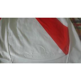 Camiseta adidas River Plate Manga Larga Sin Sponsors 2011/12