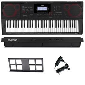 Teclado Arranjador Musical 61 Teclas Ctx3000 Casio Com Fonte