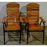 Madeira Para Estrutura De Cadeira De Ferro, Kit 4 Cadeiras