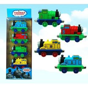 Thomas E Friends Thomas E Seus Amigos Coleção 4 Miniaturas