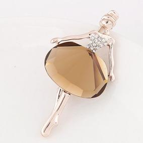 Collar Bailarina De Ballet Con Cristales
