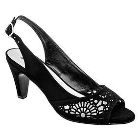 84efca5d505 Zapatillas Con Broche Para Dama Marca Lc Negro 9487 Dgt