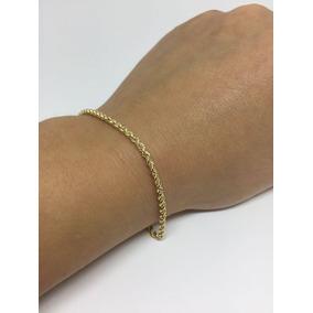 Pulseira Feminina Ouro 18k Baiano - Garantia Eterna