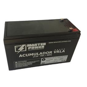 Acumulador 12v 7ah Master Selada Bateria Nacional
