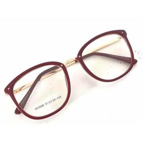 572ab25cf85ad Oculos De Grau Feminino - Óculos Vermelho no Mercado Livre Brasil