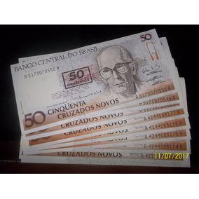 Cedula C210 50 Cruzeiros