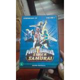 Dvd Power Rangers -super Samurai (volume 1)