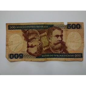 Cédula Antiga 500 Cruzeiros
