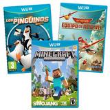 3 Juegos Completos De Wii U A Elección Con Envío Gratis!