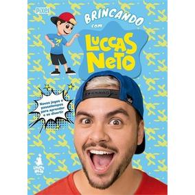 Combo Camisa + Foca + Livro Novo Luccas Neto Só R$115,00