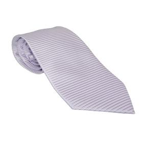 Corbata Italiana Lila Texturizada Horizontales