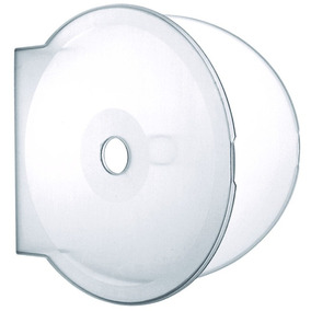50 Box Estojo Case Dvd/cd Capa Transparente Bolacha