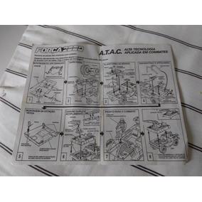 Caixa E Manual Força 2000 A.t.a.c Comandos Em Açao(original)
