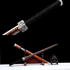 Espada Chinesa Tradicional Jian Dinastia Han Taichi Kung Fu