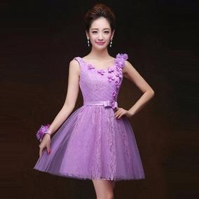 Vestidos para graduacion color violeta