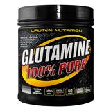 L Glutamina Pó 300g 100% Pura - Lauton Nutrition