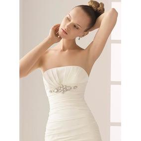 Vestido De Novia Usadorosa Clara Remato Talla Smoll  6000.00 484ea7c3d25e