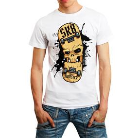 0650a5ba5d008 Roupa De Skatista Masculino - Camisetas e Blusas no Mercado Livre Brasil