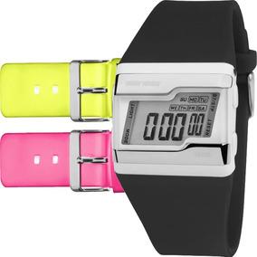 Relógio Mormaii Feminino Troca Pulseira 3 Cores Fz/t8v
