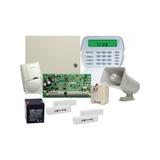 Kit Panel Pc1832s14spa/detector/sirena/contacto/bat/transf