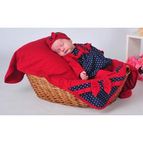 Kit Saída De Maternidade - Vermelho Menina