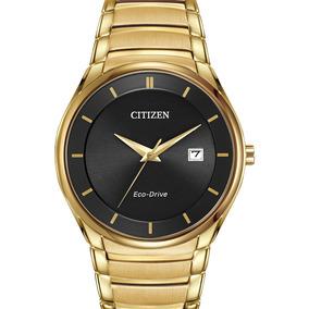 Reloj Hombre Citizen Bm6952-54e Ecodrive Acero Dorado